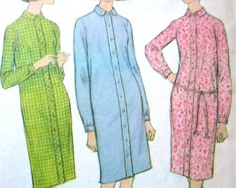 Vintage 60s McCall's 8652 Dress Pattern   Bust 32 to 34
