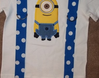 One Eyed Monster Suspender Shirt