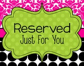 "RESERVED for Julie Custom magnet board  - Design Your Own Magnetic Board - 14W  x 11""H"