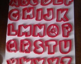 Vintage  A to Z JELLO JIGGLERS
