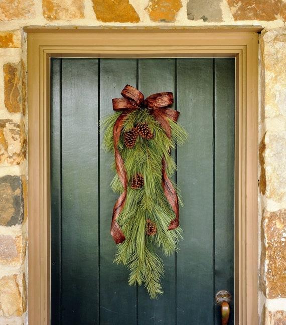 Top 25 ideas para decorar la puerta en navidad decoraci n - Ideas para decorar la puerta en navidad ...