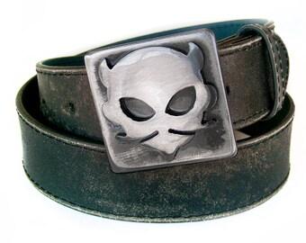 Devil Metal Belt Buckle by WATTO Distinctive Metal Wear
