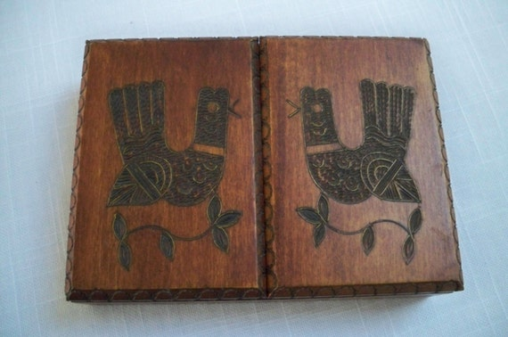 Https Etsy Com Listing 194396271 Vintage Home Decor Wood Box Aztec Style