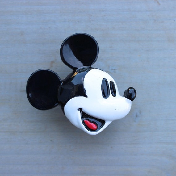 Mickey Mouse Drawer Knobs Cabinet Pull With Licensed By