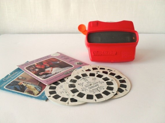 Vintage View Master with 11 Reels
