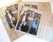 Christmas Holiday or Hanukkah Photo Greeting Cards, Holiday - Set of 20