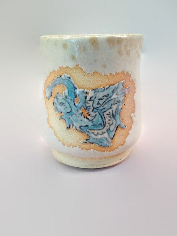 Dragon Tea bowl by Lori Buff