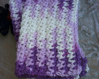 Dish/Facial Cloths.....set of 2 in Lovely Lavender
