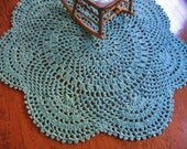 Large Rag Crochet Doily Rug Pattern-Daydreams