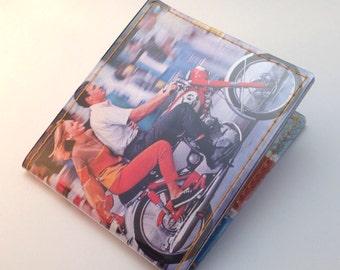 Vinyl Billfold Wallet - Jet-away