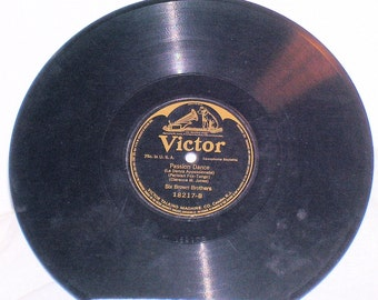 The Six Brown Brothers 10 inch 78RPM Shellac Record