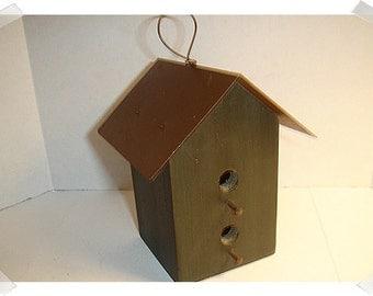 Birdhouse Decoration/Metal/Wood/Craft Supplies*
