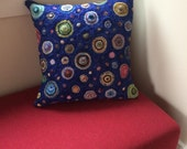 Multi-colored Hooked Pillow