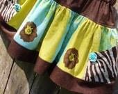Girls Fall Splender Twirl Skirt RTS
