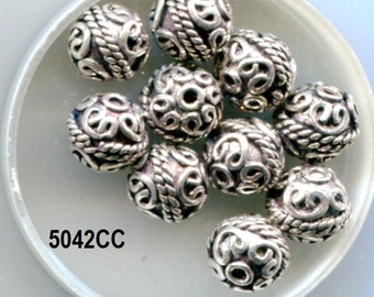 Bali Sterling Silver Beads 6 Designs B5038.B5042.B5043.SS225.SS230*