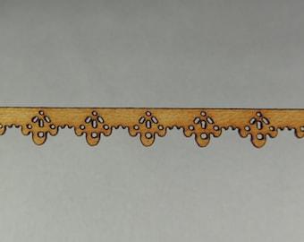 Decorative accent wood trim 33