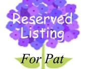 Custom Listing for Pat ~ 50 Custom Printed Tiny Tags,