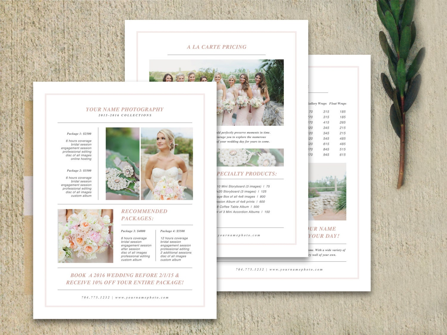 Photography marketing photography pricing template for Free marketing templates for photographers