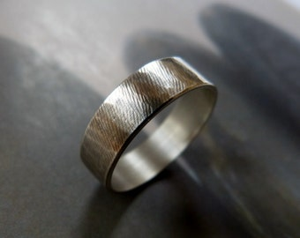 Mens Ring, Wedding Band Silver Ring, Wedding, Rustic, for men, Unisex, Men Jewerly, gift for graduation, for husband, for grandfather