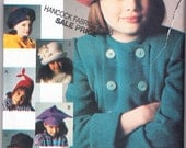 Vintage 1993 Vogue 8831 UNCUT Sewing Accessories Pattern Children's Hats All Sizes Included