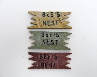 Bee's nest sign