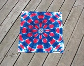 Red, White & Blue Tie Dye Bandana - DNA Shocker
