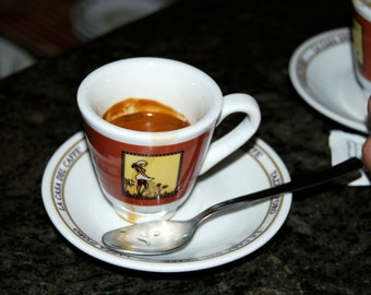 Coffee Cup, Rome Italy