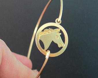 Horse Bracelet, Horse Bangle, Horse Jewelry, Horse Charm, Country Bracelet, Country Jewelry, Country Western Jewelry, Country Chic Jewelry