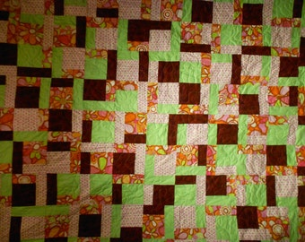 Twin Size Bed Quilt  16