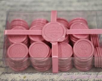 Monogram S Flexible Peel and Stick Wax Seals