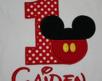 Mickeypants Birthday Shirt