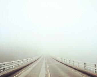 salmon creek bridge, ca. - digital print