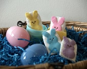 Bunny Friends Finger Puppet set