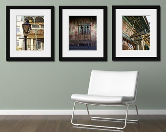 Save 20% - New Orleans Photography Art Collection, French Quarter Photographs Preservation Hall, Architecture, Travel. Affordable Wall Art.