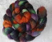 Blue Faced Leicester wool --- Hand Painted Roving -- Handspinning --  BFL --  (R8)