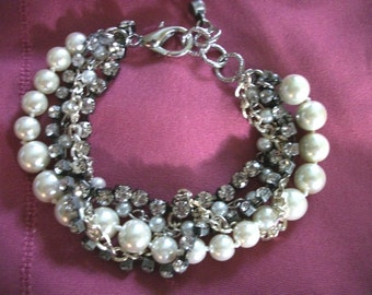 Selection Bridal Pearl Bracelets  Wedding  Jewelry  Bridesmaid