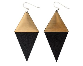 Diamond amour earrings (long version)