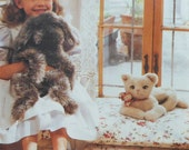 Dog and Cat Doll Sewing Pattern UNCUT Vogue 8832