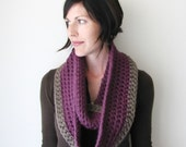 INSTANT DOWNLOAD Crochet PATTERN Circle Scarf pdf loop infinity chunky cowl for women