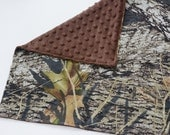 Mossy Oak Baby Security Blanket, Mini Baby Blanket Lovey Travel Changing Mat Baby Accessories Baby Shower Gift, Made From Mossy Oak Fabric