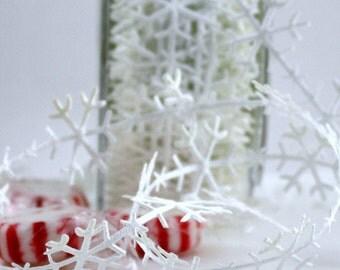 "White Snowflake Trim, 1"" wide, Frozen, White Snowflake Ribbon, Snowflake Trim, Snowflake Ribbon, Gift Wrapping, Costumes, Christmas Ribbon"