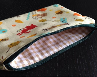 Zipper Pouch - Woodland Campers (WC0614)