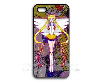 Eternal Sailor Moon iPhone case, or iginal art, i Phone 4 4S 5 5S