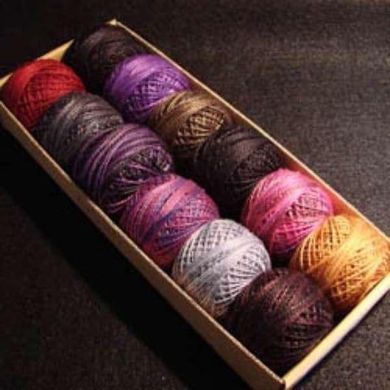 Valdani Perle Cotton Size 12 Embroidery Thread Halloween