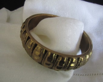 BRASS Bangle BRACELET lightweight