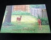 "Inspirational Handmade Photo Card - Happy Birthday - ""You're Such a Dear Friend"" - Heart Felt Creations"
