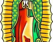 Our Lady of Guadalupe Day of the Dead Digital Picture