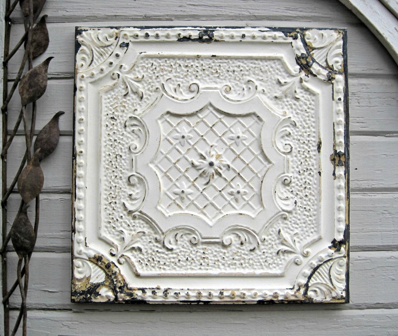 Architectural salvage - architectural restoration - tin