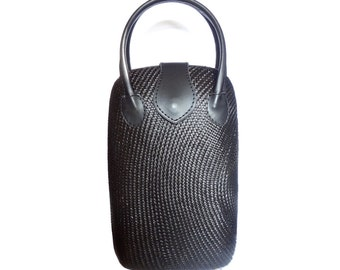 Philippine Abaca Black Bag  - Free Shipping