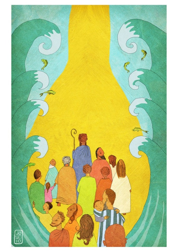 The Jesus Storybook Bible - Signed Print (Page 96 - 97)